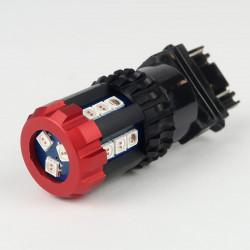 Ampoule LED P27/7W 18 Leds Canbus Orange