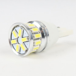 Ampoule LED T10 Anti-Erreur OBD 20 Leds Blanches 10-30V