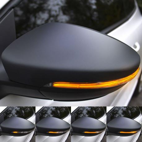 Clignotants défilants LED pour rétroviseurs VW Scirocco