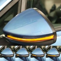 Clignotants à défilement LED pour rétroviseurs VW Golf 7