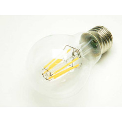E27 Filament LED Bulb 6W 600Lm Warm White