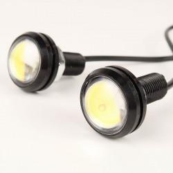 Feux de jour LED 6000°K 23mm DIY x2