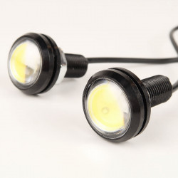 Slim LED DRL 6000°K 23mm DIY
