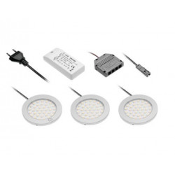 Pack of 3 LED Spots Castello Touch 2.8W 180 Lm