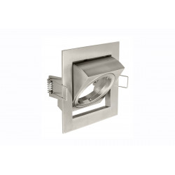 Collerette GU10/MR16 Carree Orientable Vila Ip20 Blanc