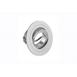 Spotlight fitting GU10/MR16 Round Orientable Morena 1 Spot Ip20