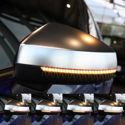 Clignotant défilant LED pour rétroviseur Audi A6 C6 Phase 2