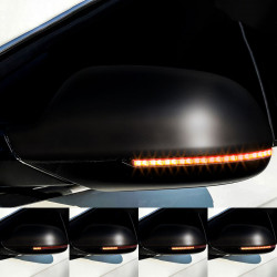 LED Dynamic Blinkers for side mirrors Audi A6 C7