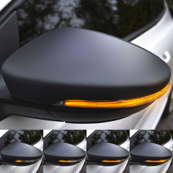 LED Dynamic Blinkers for side mirrors Seat Leon 3, Ibiza 5...
