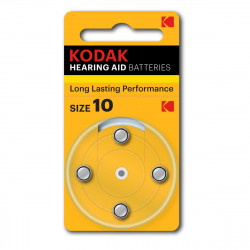 Kodak Hearing Aid Battery P10 - 4 pcs