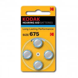 Pile pour appareil auditif P675 Kodak - Lot de 4