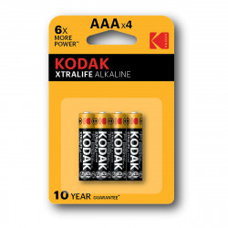 Kodak LR03 AAA XTRALIFE battery - 4 pcs