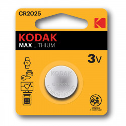 Kodak CR2025 Lithium button cell - Pack of 2