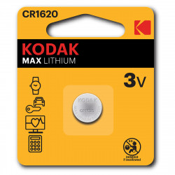 Kodak CR1620 Lithium button cell - Pack pf 2