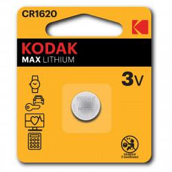 Pile bouton CR1620 Kodak Max Lithium - Lot de 2