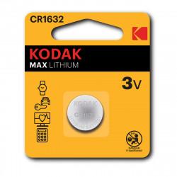 Pile bouton CR1632 Kodak Max Lithium - Lot de 2