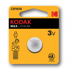 Kodak CR1616 Lithium button cell - Pack of 2