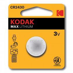 Pile bouton CR2430 Kodak Max Lithium - Lot de 2