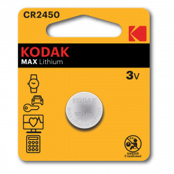 Kodak CR2450 Lithium button cell - Pack of 2