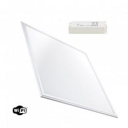 Panneau LED WiFi TUYA Dimmable T° Couleur Sélectionnable 60x60cm 40W