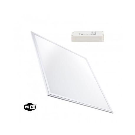 Panneau LED WiFi TUYA Dimmable Tª Couleur Sélectionnable 60x60cm 40W