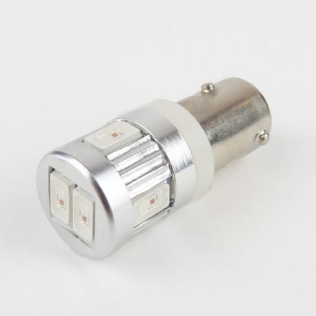 BAW9S/HY21W LED Bulb Canbus 6 Orange LEDs 12-24 V