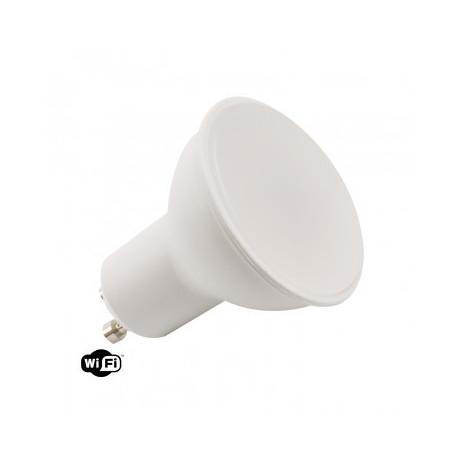 Pack 5 LED Bulbs WiFi TUYA GU10 Dimmable RGBW 4W