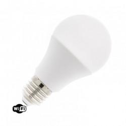 Pack of 10 LED Bulbs WiFi TUYA E27 Dimmable RGBW A60 10W