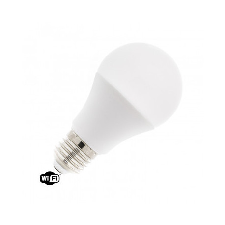 Pack 10 Ampoules LED WiFi TUYA E27 Dimmable RGBW A60 10W