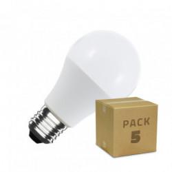 Pack 5 LED Bulbs A60 6W