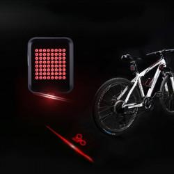 Feu clignotant LED automatique de direction pour vélo et trottinette