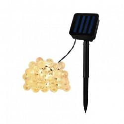Guirlande Boules LED avec Chargeur Solaire