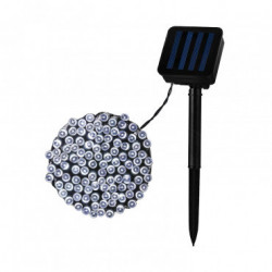 Garland LED Rainbow with Solar Charger 12m