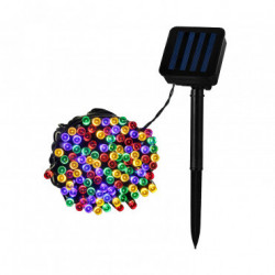 Garland LED Rainbow with Solar Charger 22m