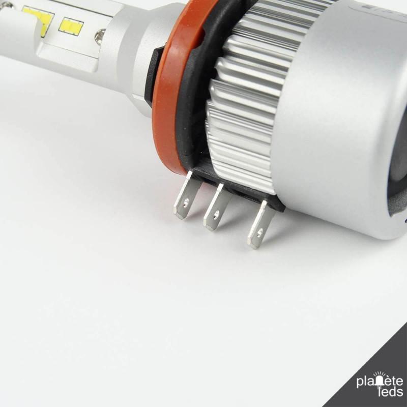 Kit Led H15 Plug U0026play Canbus Drl  High Beam Headlights