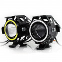 Additional LED headlight for motorcycle and scooter 12V 20W 3000Lm