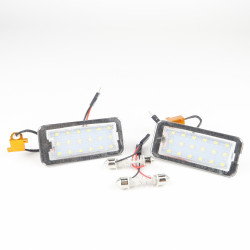 License plate LED Module for Fiat 500 - no error display