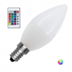 Ampoule LED E14 Dimmable RGBW C37 4.5W