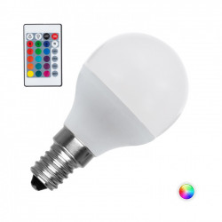LED bulb E14 Dimmable RGBW G45 4.5 W