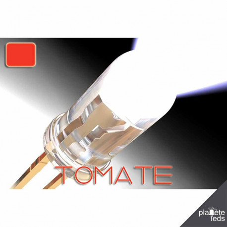 Led ColorPrecision 5mm TOMATE