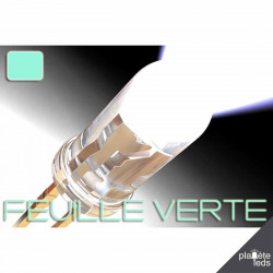 Led ColorPrecision 5mm FEUILLE VERTE