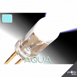 Led ColorPrecision 5mm AQUA (eau)