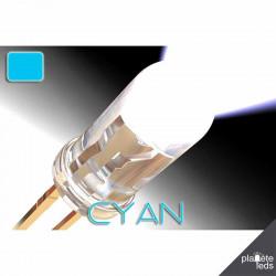 Led 5mm ColorPrecision CYAN