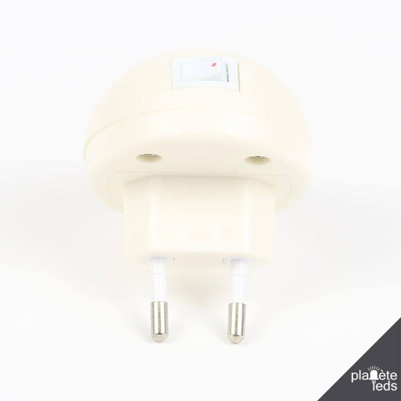 dfa1ccb6a8c09 ... Veilleuse LED pour prise murale avec interrupteur