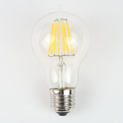 Ampoule LED E27 filament 6W Blanc chaud