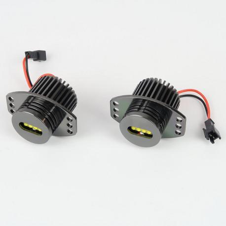 Ampoules LED pour voiture et moto : Module Led Angel Eyes 40W CANBUS CREE XBD pour BMW E90/91