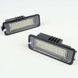 Module de plaque LED pour VW Golf 6, Jetta, Touran,...