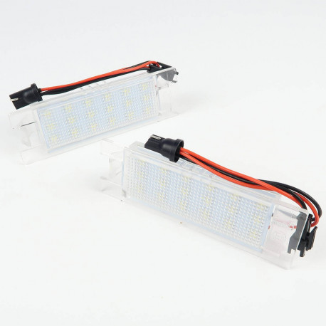 License plate LED Module for BMW Serie 2/3/5 and X5