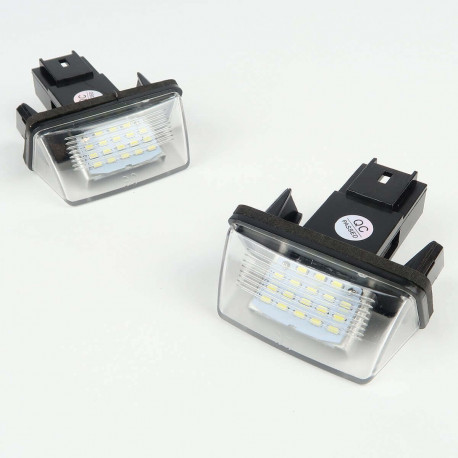 License plate LED Module for Peugeot / Citroen