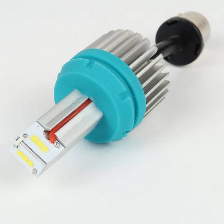 Eclairage LED pour voiture et moto : Ampoule Led BA15S - 1156 1 Led 3W High Power Blanche